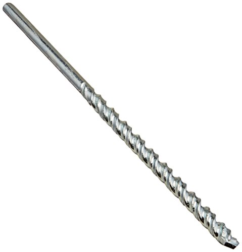 - Vermont American 14024 Double Flute Masonry Bit, 1/4-Inch by 6-Inch