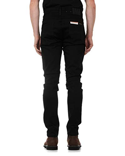 Para Black Dean Slim Hombre Jeans Dry Lean Ever Nudie Vaqueros qzB4X1fw