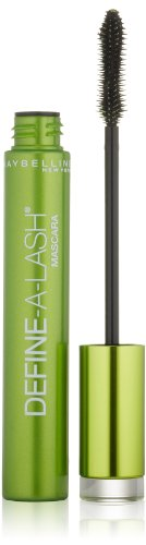 Maybelline Define-A-Lash Lengthening Washable Mascara, Very Black. For Washable Definition and Shape in Longer-looking Lashes