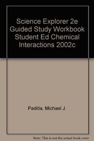 amazon com science explorer 2e guided study workbook student ed rh amazon com Physical Interaction Foss Chemical Interactions Middle School
