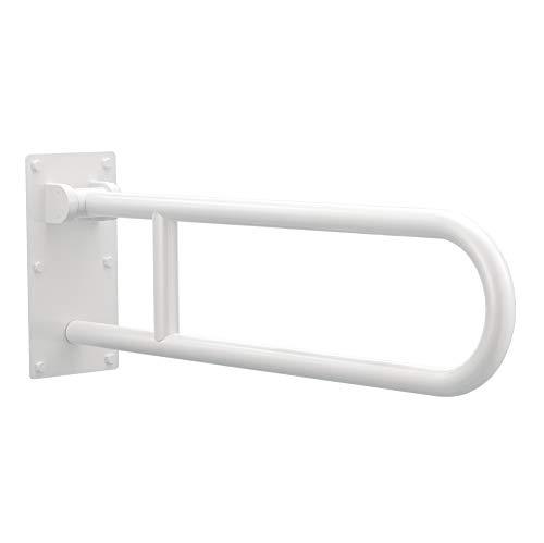 Moen R8960fdw 30 Inch Flip Up Screw In Bath Safety Screw In Bathroom Grab Bar Glacier