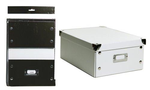 Aufbewahrungsbox Din A4 Weiss Amazon De Burobedarf Schreibwaren