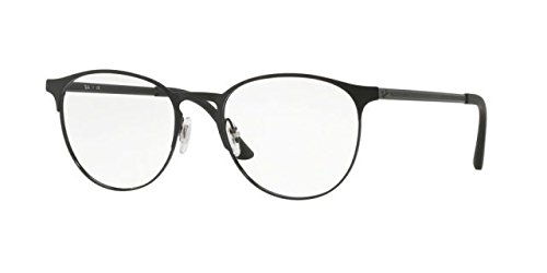 Ray-Ban RX6375 Eyeglasses Black Top On Matte Black - Optics Rayban