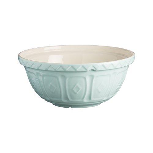 Mason Cash Earthenware Mixing Bowl, S12, 11-1/2-Inches, 4-1/4-Quarts, Powder Blue Blue Earthenware Bowls