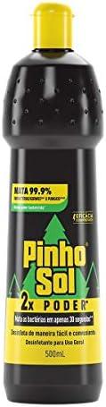 Desinfetante Pinho Sol Multiuso 2X Poder 500Ml, Pinho Sol