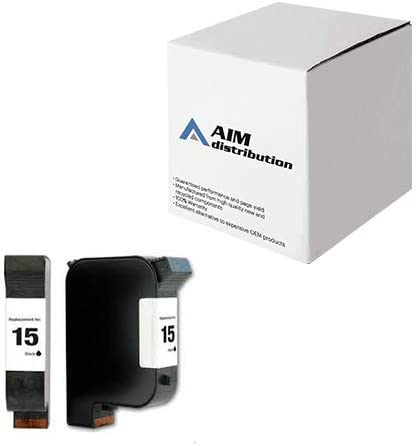 AIM Compatible Replacement for HP NO 15 Black Inkjet C6615AN 500 Page Yield - Generic