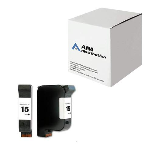 AIM Compatible Replacement for HP NO. 15 Black Inkjet (500 Page Yield) (C6615DN) - Generic