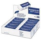 Staedtler 52650 Mars Eraser White Vinyl 20/Box