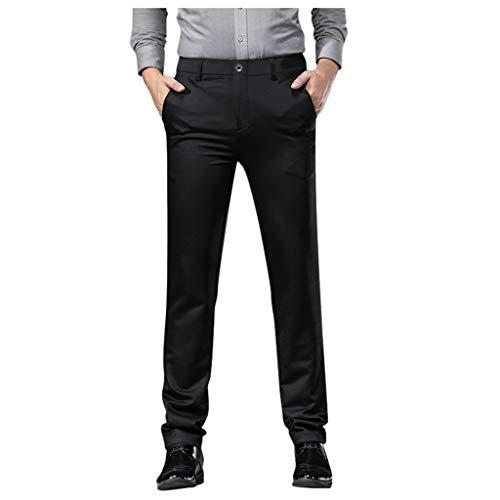 [해외]Men`s Stretch Dress Pants Slim Fit Skinny Premium Suit Pants Flat Front Business Trousers / Men`s Stretch Dress Pants Slim Fit Skinny Premium Suit Pants Flat Front Business Trousers Black