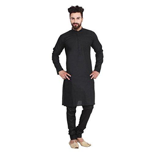 Linen Kurta - Ruchi Mart Men's Traditional Designer Linen Kurta Pajama Ethnic Wear Fastival Dress