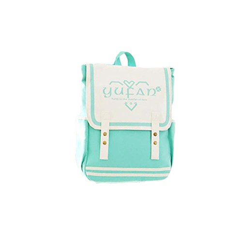 Fashion Student Bag Casual Canvas Rucksack Kleine Fresh Travel Rucksack_A16