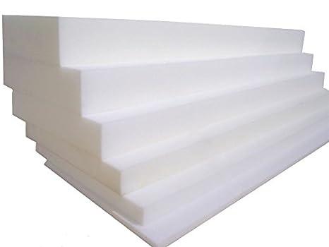 Imbottiture quadrate in schiuma per cuscini per sedie e sgabelli