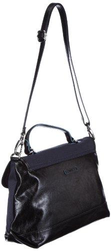 ESPRIT Esprit Tasche - Bolso de mano de material sintético mujer azul - Blau (Navy 410)