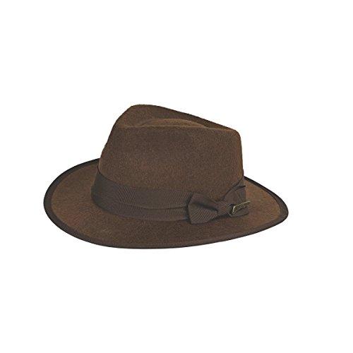 Rubie's Costume Co Indiana Jones Adult Hat Costume, One size -