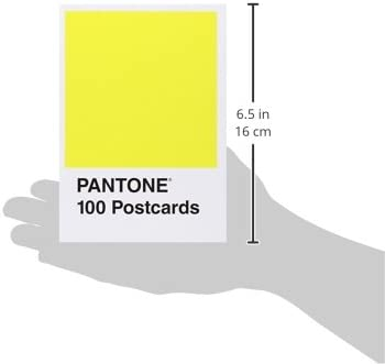 office products, office, school supplies, paper, cards, card stock,  postcards 8 image Pantone Postcard Box: 100 Postcards (Pantone Color Chip promotion
