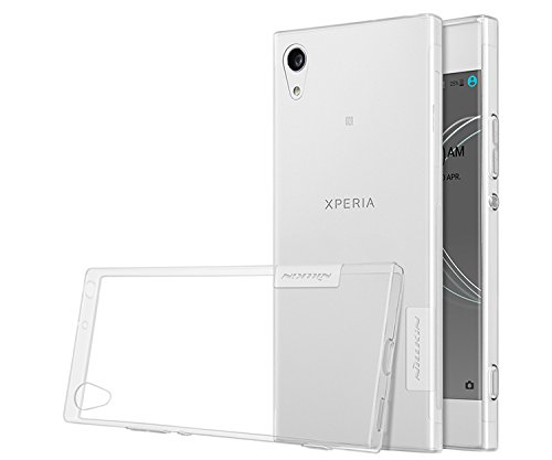 phone case Skuleer(TM) case for Sony Xperia XA1 Ultra TPU back cover Nature clear TPU soft case [ White for sony XA1 ] (Sony Case Phone Ericsson)