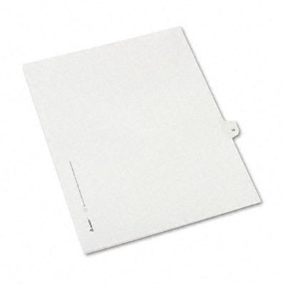 Allstate-Style Legal Side Tab Divider, Title: 10, Letter, 25/Pack [Set of 3] by Avery