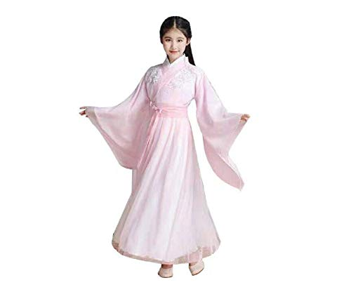 Peachi Girls Chinese Robe - Vintage Ancient Hanfu Children