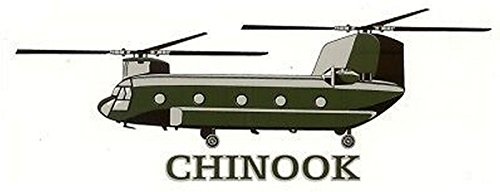 Army Chinook Decal Sticker