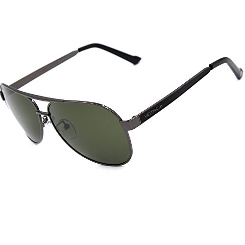 VEITHDIA 3152 High Grade Classic Polarized Aviator Sunglasses 100 UV Protection - Brand Name Sunglasses