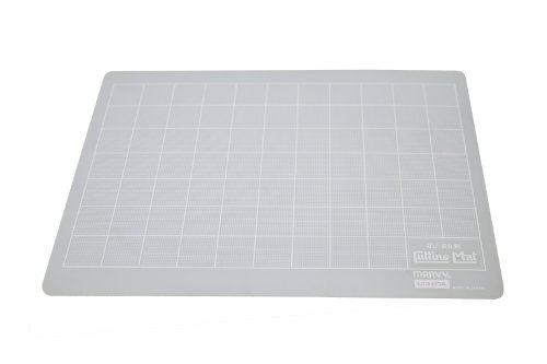 (Uchida TSS Marvy Translucent Cutting Mat, White, 8-1/2-Inch by 12-Inch)