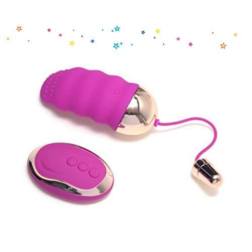 Remote Control Massager USB Rechargeable 10 Modes Wireless Mini Ball Pleasure