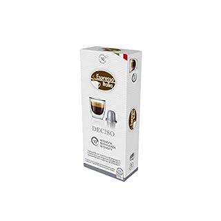 Nespresso Capsules - Espresso Italia Coffee pods for Nespresso Original Line machines 80 count certified compatible with genuine Nespresso Original. DECISO blend, Bold intensity