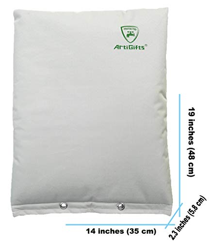 Measure Before Purchase AtiGifts Premium Backflow Insulation Cover for Winter Freeze Protection Pale Khaki 14/'/'W x 19/'/'H ArtiGifts Insulated Pouch
