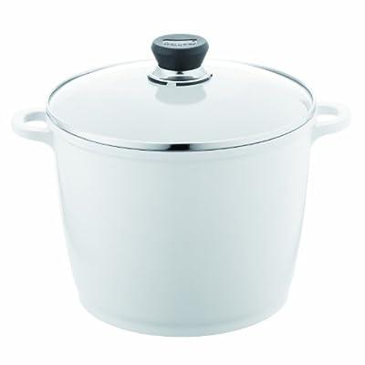 Berndes 697614 SignoCast Pearl Ceramic Coated Cast Aluminum 7-Quart Covered Stock Pot