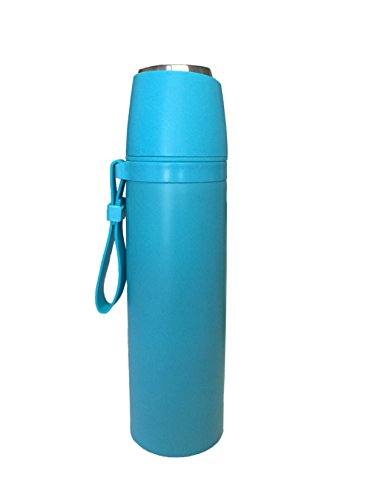 Ospard Thermos Vacuum Insulated Stainless Water Bottle Blue 17 Ounce SH-07