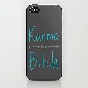 ZCL-Caso duro del patrón de karma para el iphone 5 / 5s