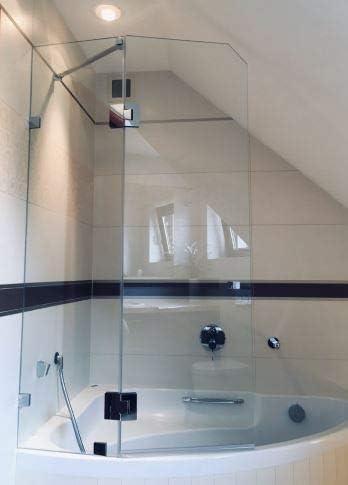 Glass House Sello en forma de pluma para cabina de ducha GH-UO14 ...