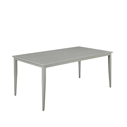 Home Styles 5700-31 South Beach Rectangular Patio Dining Table, Gray by Home Styles