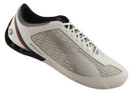 bede35017abb Image Unavailable. Image not available for. Colour  Puma Men s Power Race  BMW Motorsports Fashion Sneaker White Silver Team Blue- 10