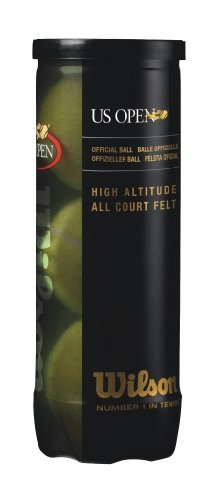 (Wilson US Open High Altitude Tennis Ball (3 Ball Can))