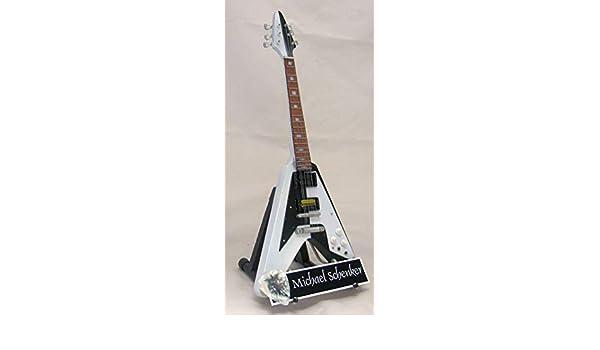 IZZI Michael Schenker Gibson Flying V - Guitarra en Miniatura con ...