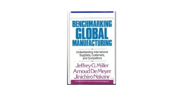 Benchmarking Global Manufacturing: Understanding International