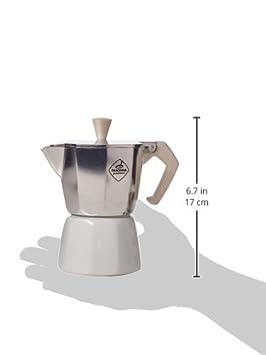 Aluminio Tescoma Paloma Colore Cafetera 12,2 x 7,2 x 12,9 cm