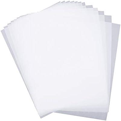 50 قطعة من ورق رسم مصور ورقي نصف شفاف ورقي رسم هزلي Amazon Ae