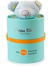Bubba Blue Blue Bear Security Blanket, Blue