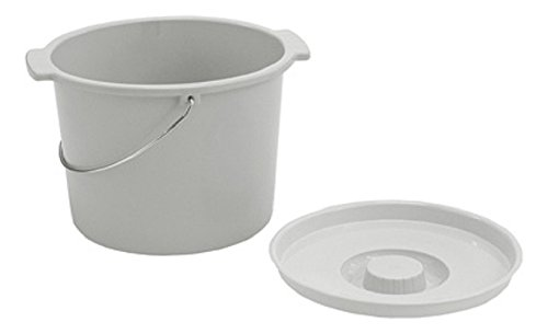 Lumex RP20790-6 Large Capacity Commode Pail (Pack of 6)