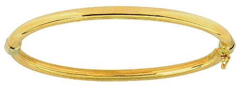 Diamantly - Bracelet or Jonc 4mm - or 375/1000 (9 Carats) - Femme - Fille