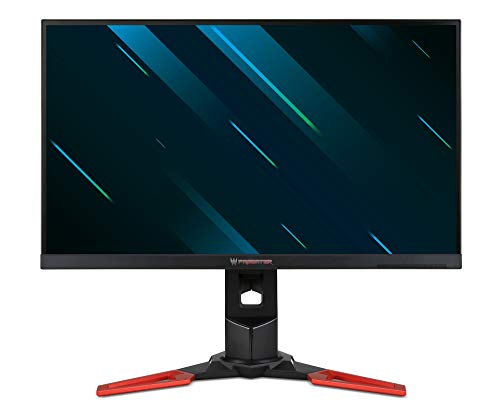 Acer Predator XB271HU – Monitor Gaming de 27″ Wide Quad HD 165 Hz (2560 × 1440, IPS LED, NVIDIA G-Sync, ZeroFrame, 350 nits, Tiempo de Respuesta 4ms GTG, HDMI, USB y Displayport) – Color Negro