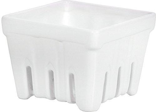 Home Essentials Bright White 29oz Berry Basket