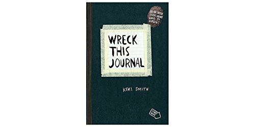 Wreck This Journal Expanded Edition - Classic Black , Educational Books Toys, 2017 Christmas Toys ()