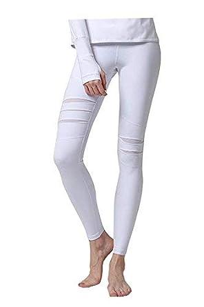 BIRAN-5 Pantalones De Yoga para Mujer Color Pilates Deporte Liso ...