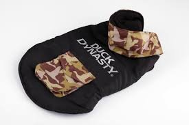 Duck Dynasty Camo Pet Jacket, Large, Black - Fido Fleece Coats