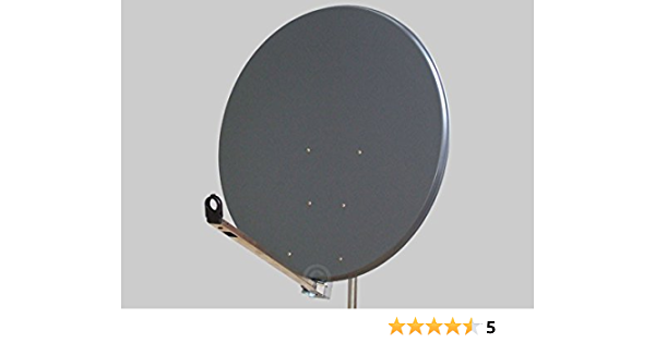 Antena Gibertini 100 cm Alu antracita L-Serie