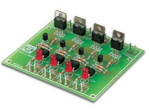 Velleman K2634 Quad Triac Switch Card