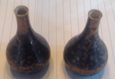 Dansk Candles - Dansk Vintage Set of 2 Designs Onion Teardrop Incense Candle Holders France IHQ